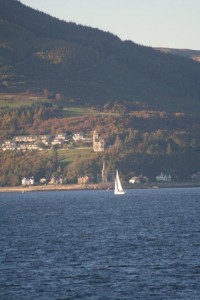 Yacht on Clyde